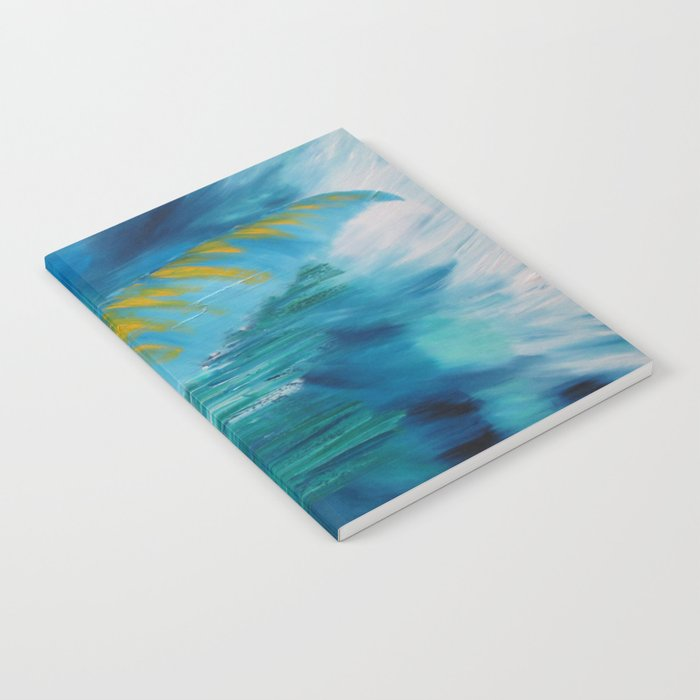 Abstract Palm  Notebook