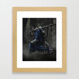 Artorias (Dark Souls fanart) Framed Art Print