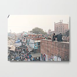 Full Indian Streets IIIII Metal Print