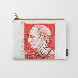 Ceasar Stamp Carry-All Pouch