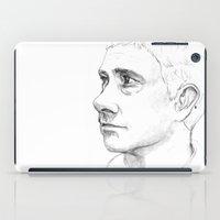 emma watson iPad Cases featuring Watson by Jennifer Kathryn Lee