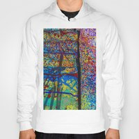 chaos Hoodies featuring Chaos by Claire Doherty