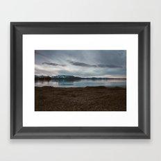 A Lake Named Tahoe Framed Art Print