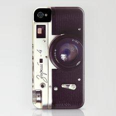 Zorki vintage camera iPhone (4, 4s) Slim Case