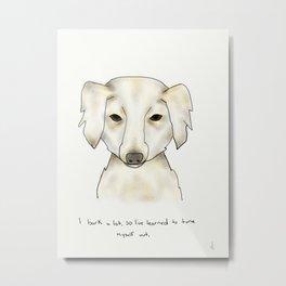 alice the dog Metal Print