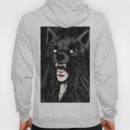 of wolf and men Hoody