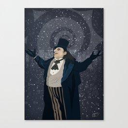 Oswald Cobblepot - The King Penguin Returns! Canvas Print