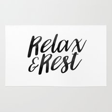 RELAX AND REST Rug