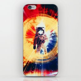 With Love From Space iPhone Skin