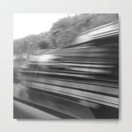 motion Metal Print