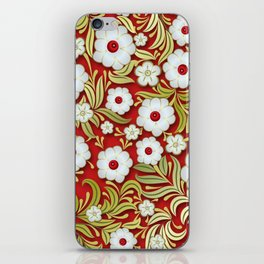 Art Flowers V3 iPhone Skin