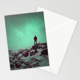Lost the Moon While Counting Stars II Stationery Cards