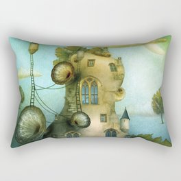 Moon Fairytale VII Rectangular Pillow