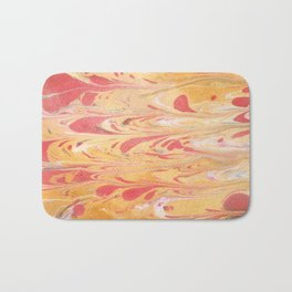 Yellow Marble Bath Mat