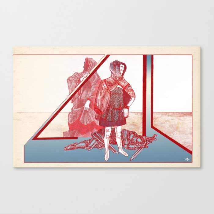 A Story About A Girl Canvas Print
