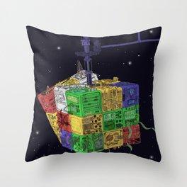 Computronium Throw Pillow