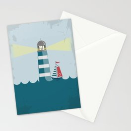 Sea Tower Stationery Cards