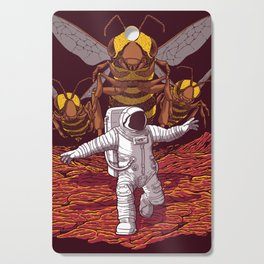Killer bees on Mars. Cutting Board