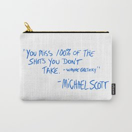 The Office Quote Carry-All Pouch