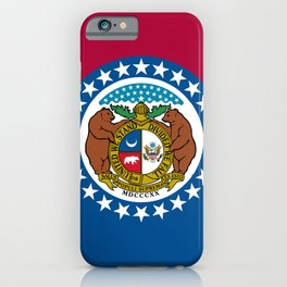 Missouri State Flag iPhone Case