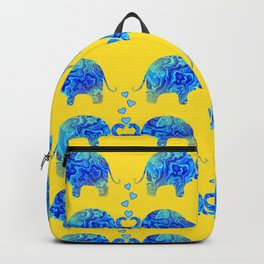 Love Will Keep Us Together -Elephants Backpack