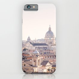 Roman Sunrise - Rome Italy Travel Photography iPhone Case