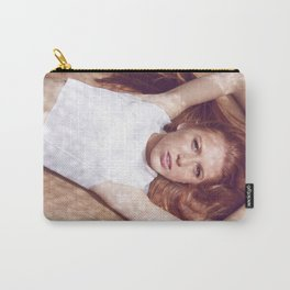 woman on air Carry-All Pouch