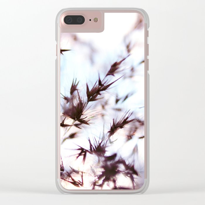 Dream of nature Clear iPhone Case
