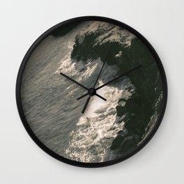 Rocky Coast Wall Clock