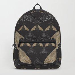 Moth pattern Backpack