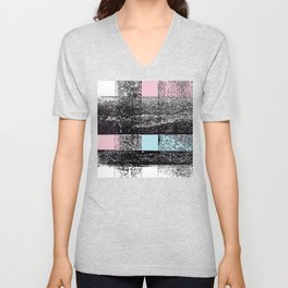 Analytical Geometry. A look at Russian Constructivism Unisex V-Neck