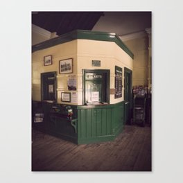 Railway Ticket Office Canvas Print