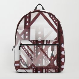 Red Steel Construction Backpack