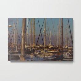 Cyprus Port Metal Print