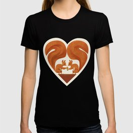 Love Heart Squirrels T-shirt
