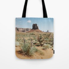 Blooming Southwest Desert Yucca Tote Bag