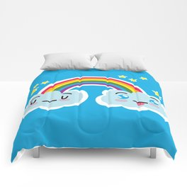 Happy Sappy Rainbow Comforters