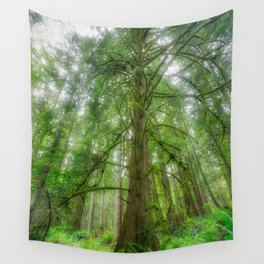 Ethereal Tree Wall Tapestry