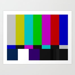 patterns and colors Art Print