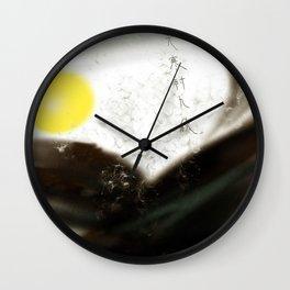 Deep Autumn, Cold, & Moon Wall Clock