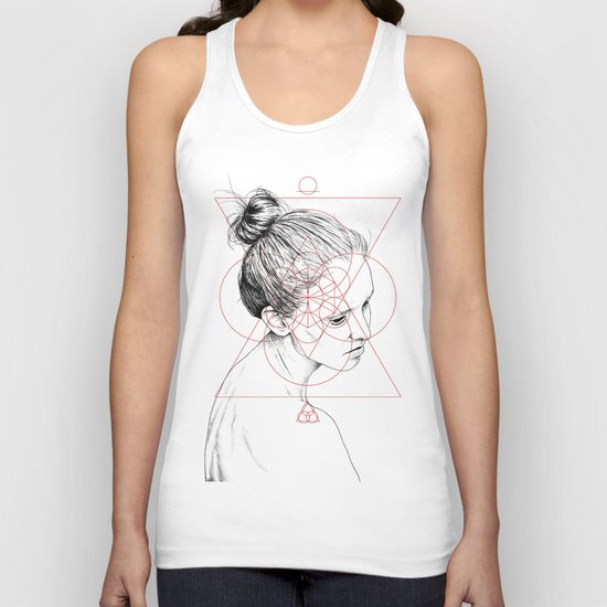 Face Facts II Unisex Tank Top