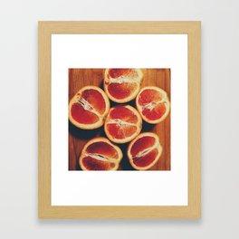 A la Citrus Framed Art Print