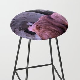 Searching the Beauty. African Invasion Bar Stool