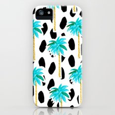 Palm Trees and Dots iPhone (5, 5s) Slim Case