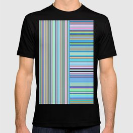 Re-Created  Lines & Stripes 4 by Robert S. Lee T-shirt