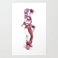 Bulma Art Print