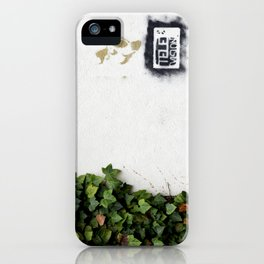 Television versus nature iPhone Case