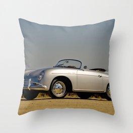 Porsche Speedster Throw Pillow