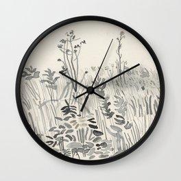 Polder close-up Wall Clock
