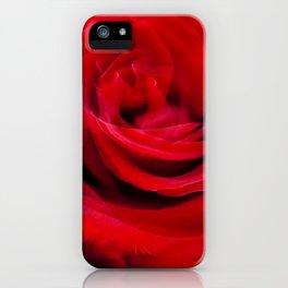 Singl Red Rose iPhone Case